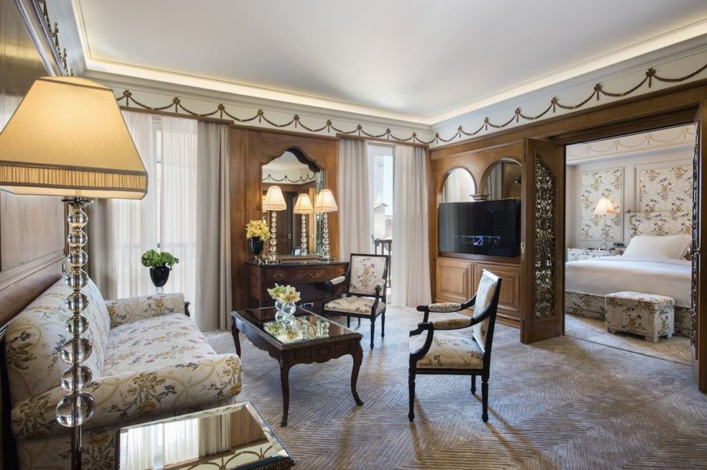 Rome Hassler Hotel Suite