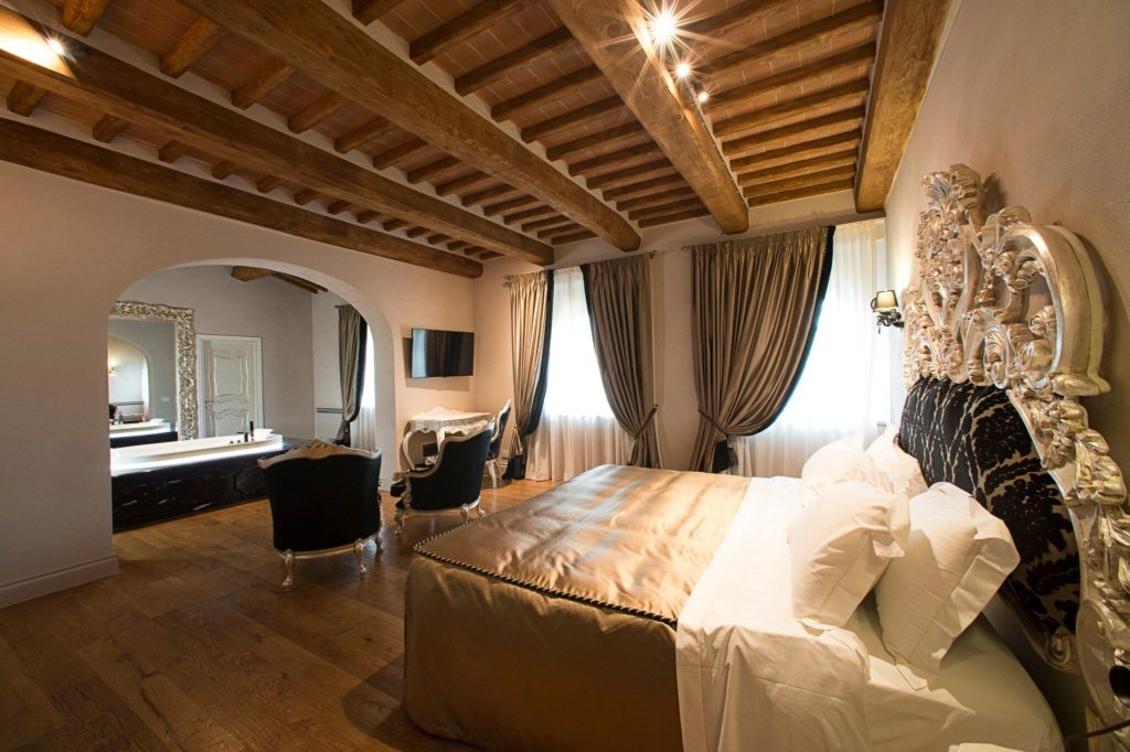 Cortona Italy Bridal Suite