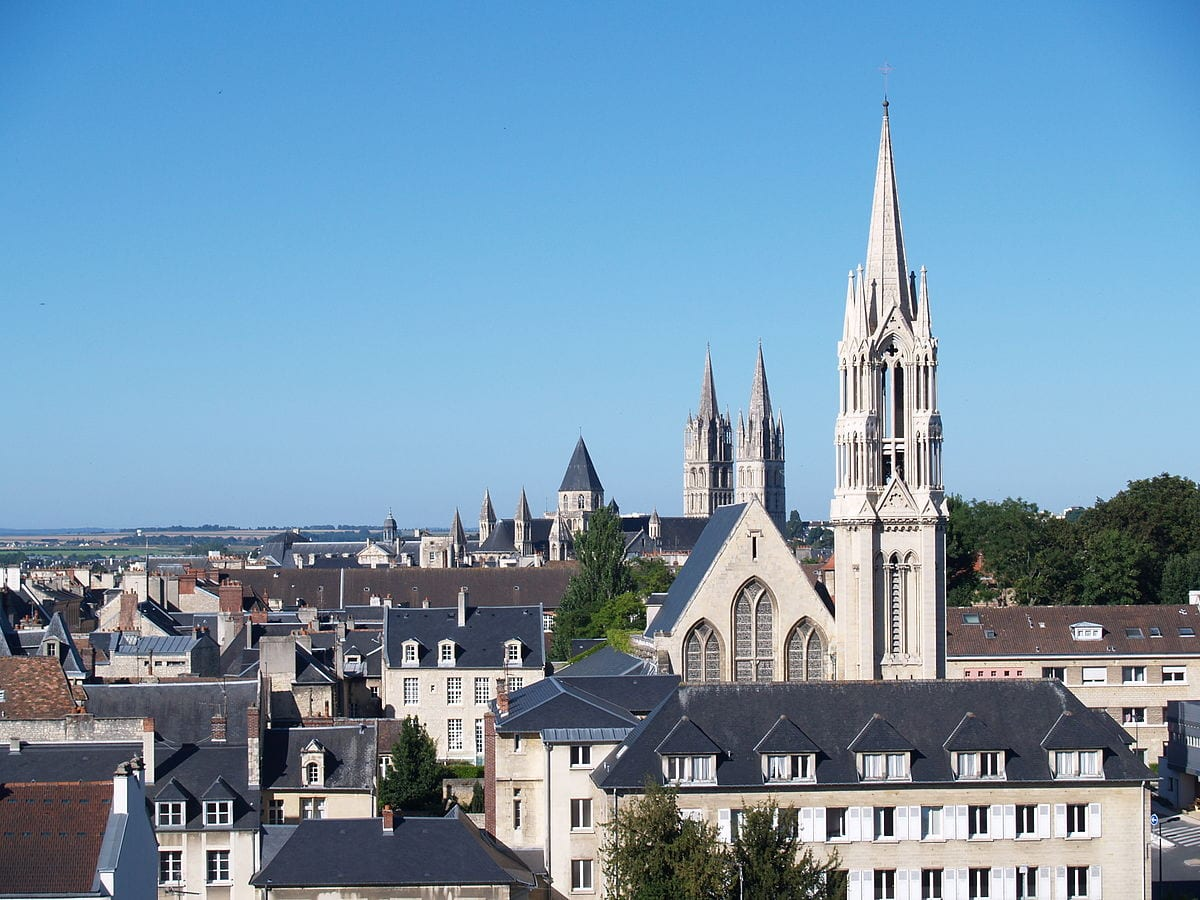 The city of Caen
