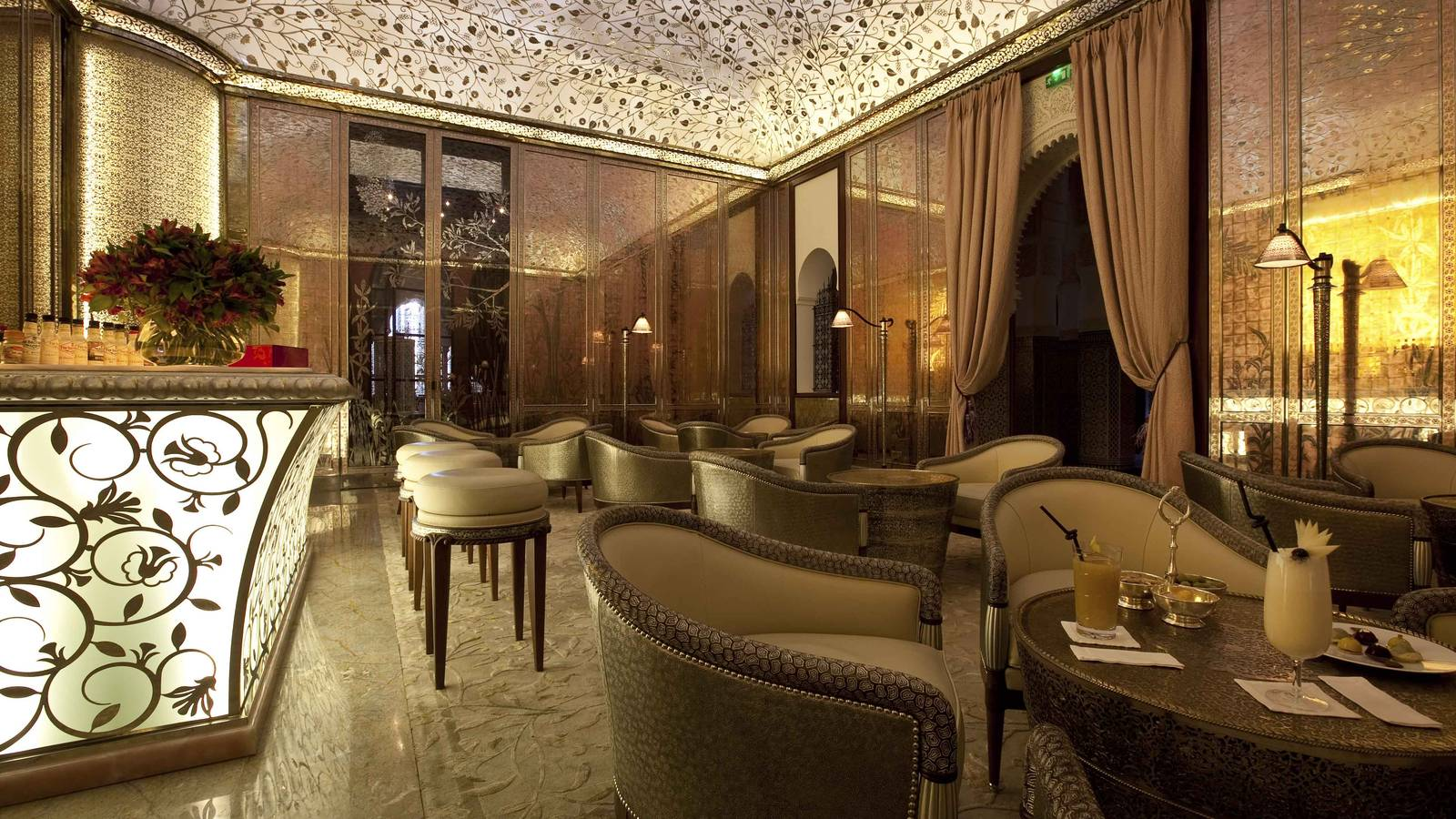 The Royal Mansour Bar