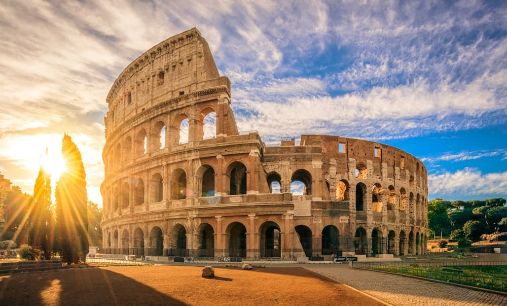 Colosseum & historical sites