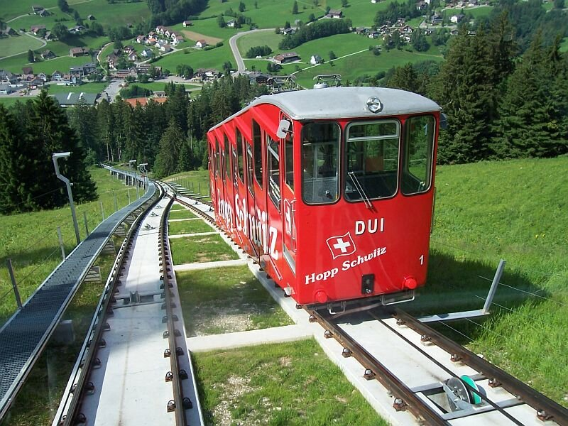 Funicular to Brunate