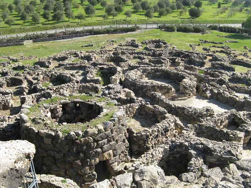 Ancient Nuraghe at Barumini