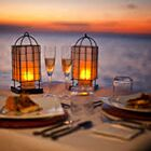 Sunset Dinner by the Sea
